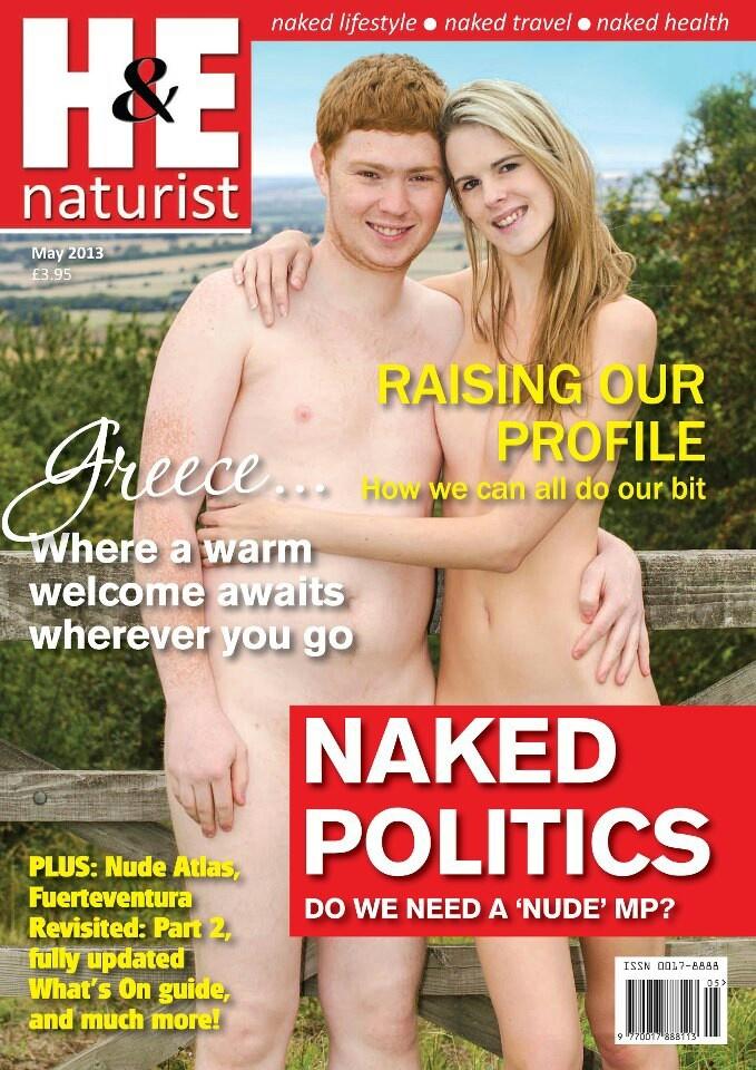naturist magazine - May 2013