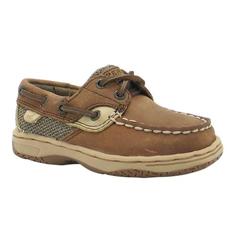 Toddler Sperry Topsider Bluefish Boat Shoe Tan