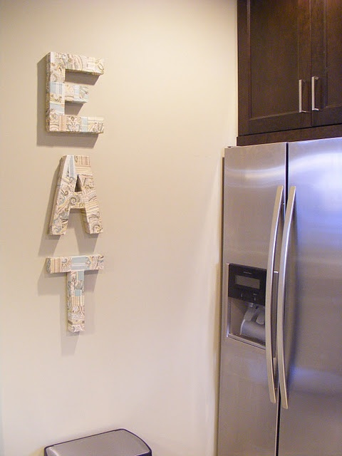 Kitchen Wall Decor Eat : Pin by sariah islam on home