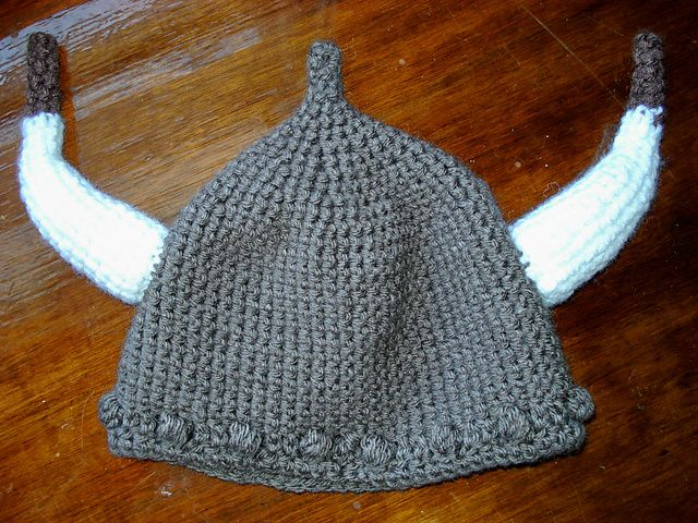 viking hat awesome Yarn and wool Pinterest