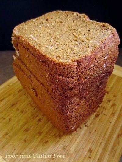 ... Gluten Free Multiseed Multigrain Sandwich Bread (GF Breadmaker Bread
