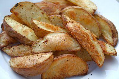 Roasted Potato Wedges | recipes | Pinterest