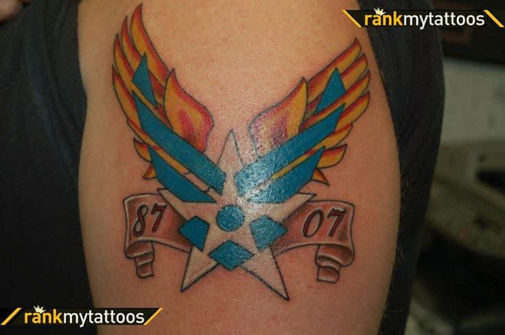 Armed Forces Tattoo Design