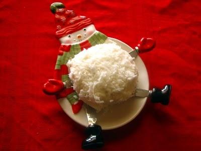 Coconut Snow Ball | Pass Me Da Butter | Pinterest