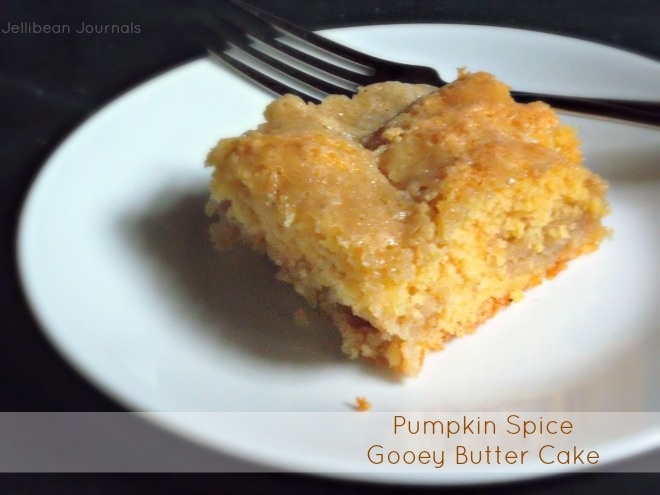 Pumpkin Spice Gooey Butter Cake   Forget About Dieting   Pinterest