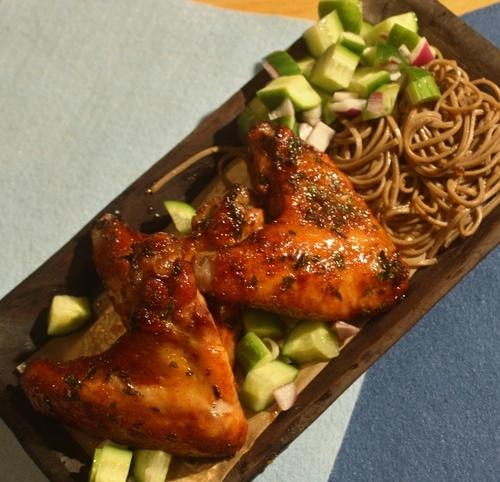 Spicy-Sweet Chicken Wings | My Food | Pinterest