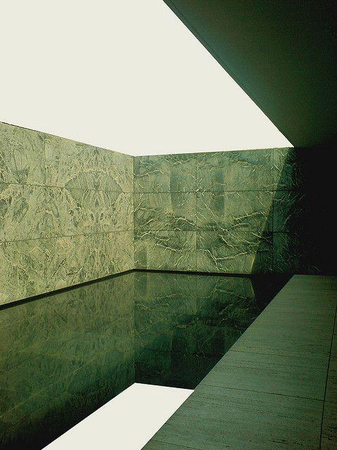 Mies van der Rohe. #barcelona #mies #minimal #architecture