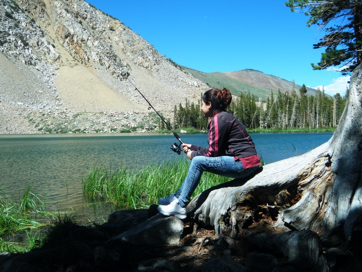 Fishing mammoth lakes ca cool fishing spots pinterest for Best fishing spots in california