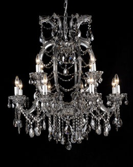 Smoke Crystal Chandelier For In Or Around My Future Home Pinte