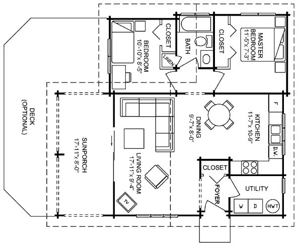Mother in law mama house pinterest for Small mother in law house plans
