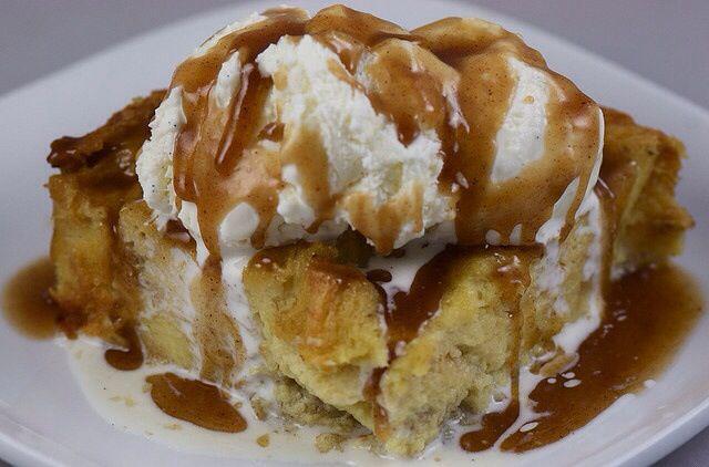 Bananas Foster Bread Pudding | Desserts | Pinterest