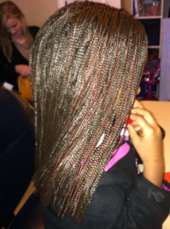 Crochet Braids Micro : Micro Braid Synthetic Crochet Extensions https://www.facebook.com ...