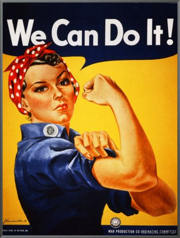 Strong Women! We can do it!