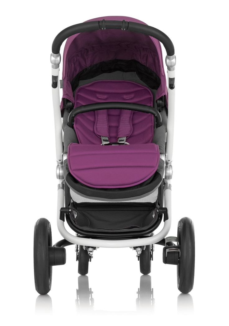 Britax Affinity Stroller in Cool Berry #style #radiantorchid #baby