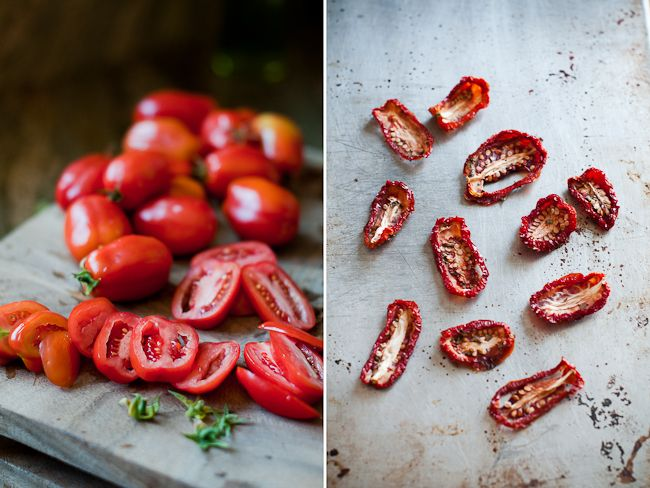 Sun Dried Tomatoes in the Sun - Summer Fest