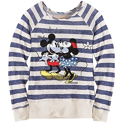 would wear this shirt . ! I love minnie and mickey