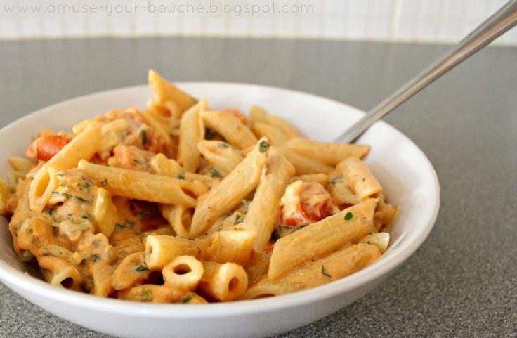 Tomato cream pasta sauce | Cook This For Me | Pinterest