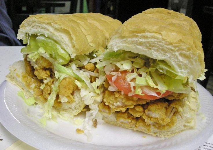 Shrimp Po Boy Sandwich | Yummo 2 | Pinterest