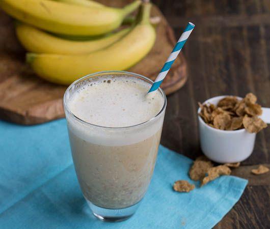 Banana Bread Protein Shake - 1 scoop vanilla protein powder, 1 banana ...
