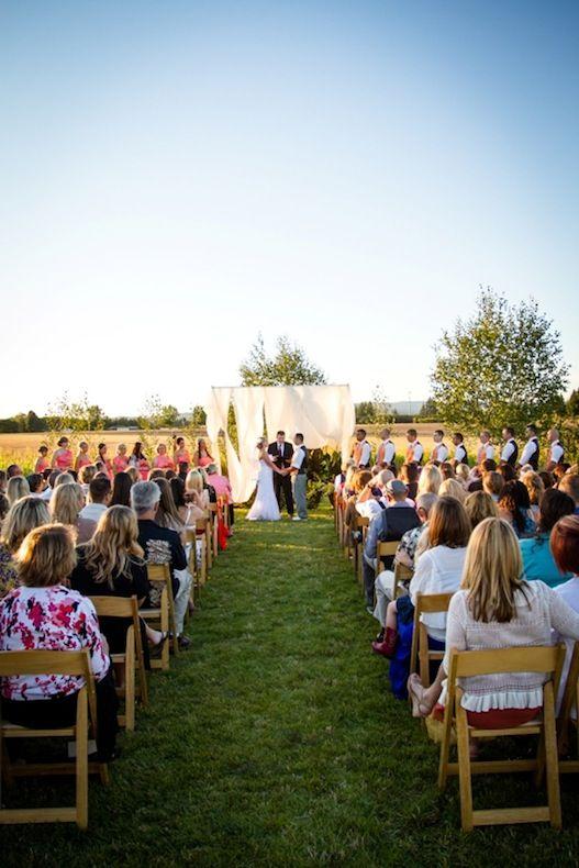 cérémonie extérieure mariage