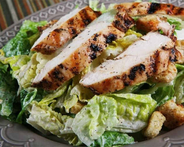 Grilled Chicken Caesar Salad | My Weakness | Pinterest