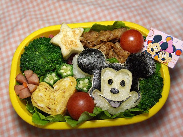 Mickey Mouse bento | Kids Stuff | Pinterest