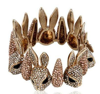 """Schield Collection """"Crazy Rabbit"""" bracelet!"""