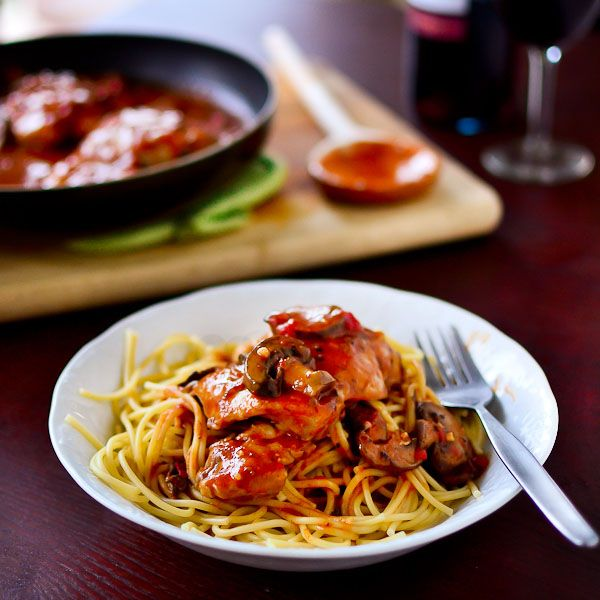Easy Chicken Cacciatore | Favorite Recipes | Pinterest