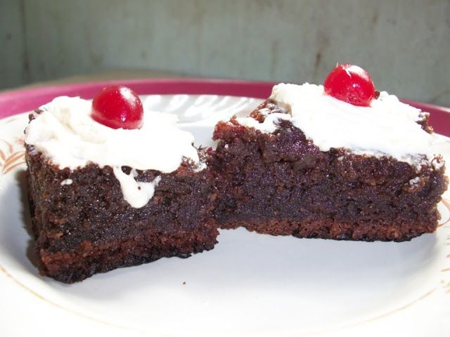 Chocolate Cherry Brownies | breads,cakes,baking 2 | Pinterest
