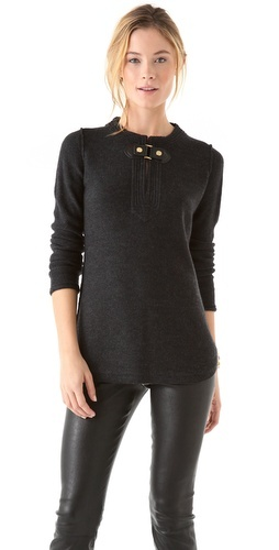 Tory Burch Mim Tunic Sweater #fall #fashion
