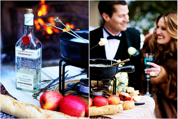 Fondue | Wedding Fondue Ideas | Pinterest
