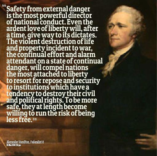 Alexander Hamilton Federalist Quotes Quotesgram