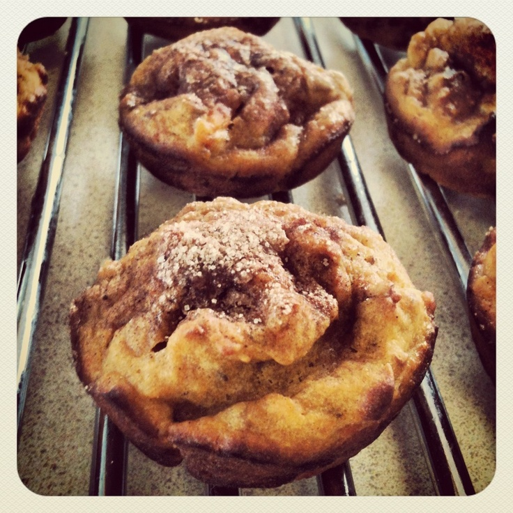 Cinnamon Crunch Sweet Potato Muffins | Dogs | Pinterest