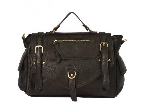 Adele Buckle Satchel from Handbag Heaven.