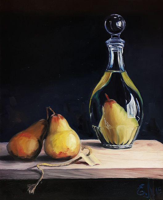 Живопись маслом рисуем натюрморт