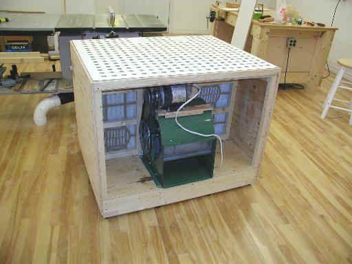 Comdowndraft Table Design : ... plans  this downdraft table can be found here downdraft table plan