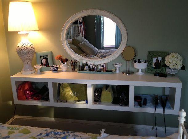 Floating vanity... Ikea hack