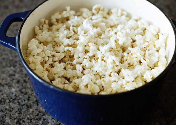Perfect Stovetop Popcorn | Recipe