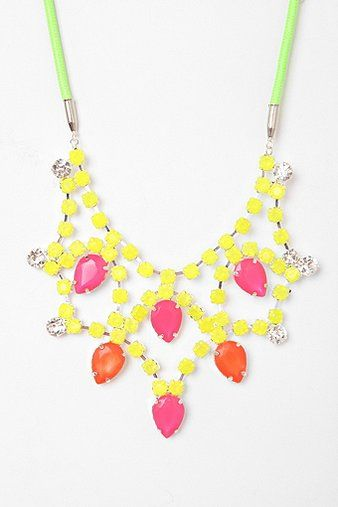 ... Teardrop Bib Necklace | Styles Fade Fashion is Eternal | Pint