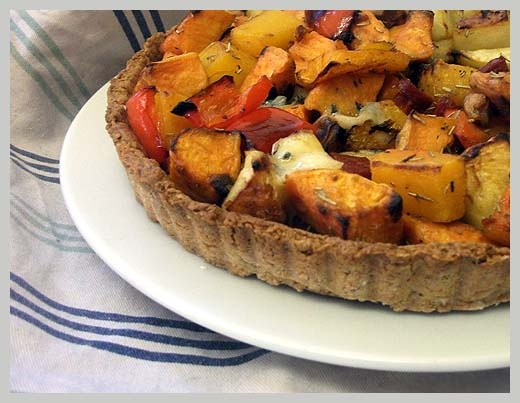 Roasted Vegetable Tart | Pepper & Sherry Gallery | Pinterest