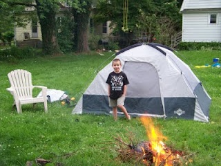 great american backyard campout adventures pinterest