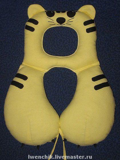 Дорожная подушка для ребенка своими руками 8