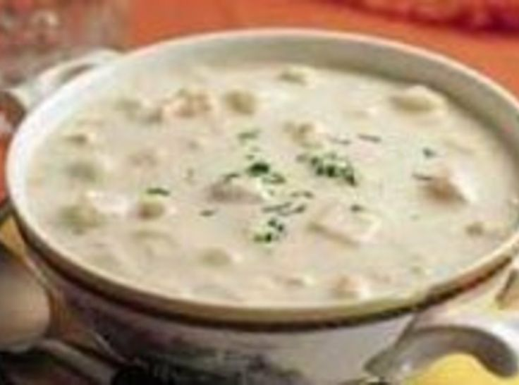 New England Clam Chowder | sOuP | Pinterest
