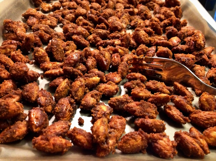 Candied Almonds. Sweet & Smoky | Recipe Blog | Pinterest
