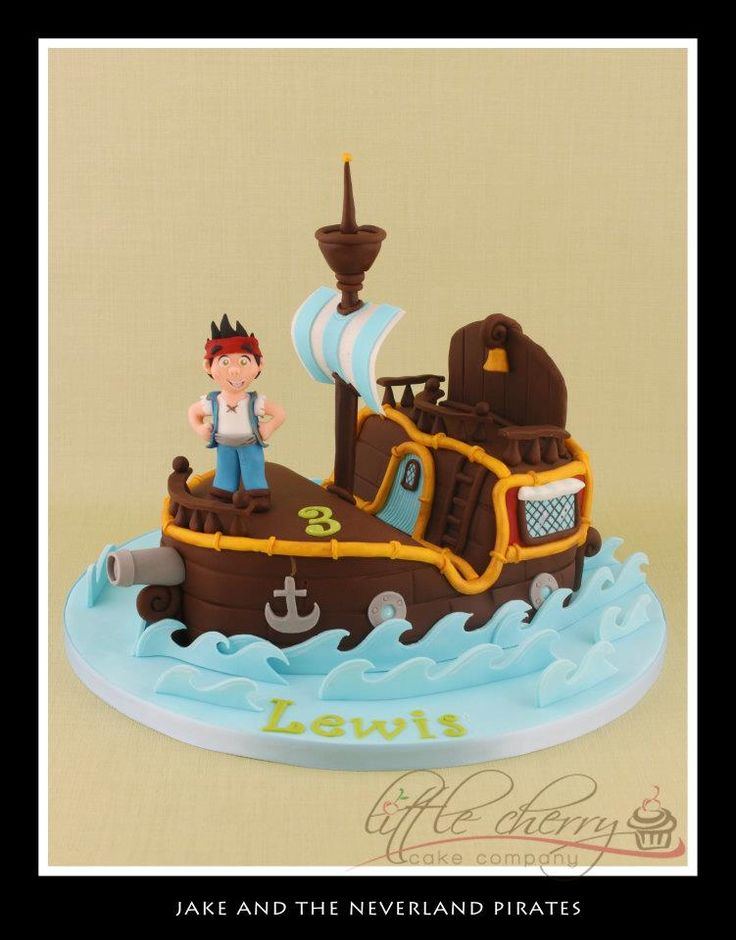 jake and the neverland pirates tiered cake - photo #5