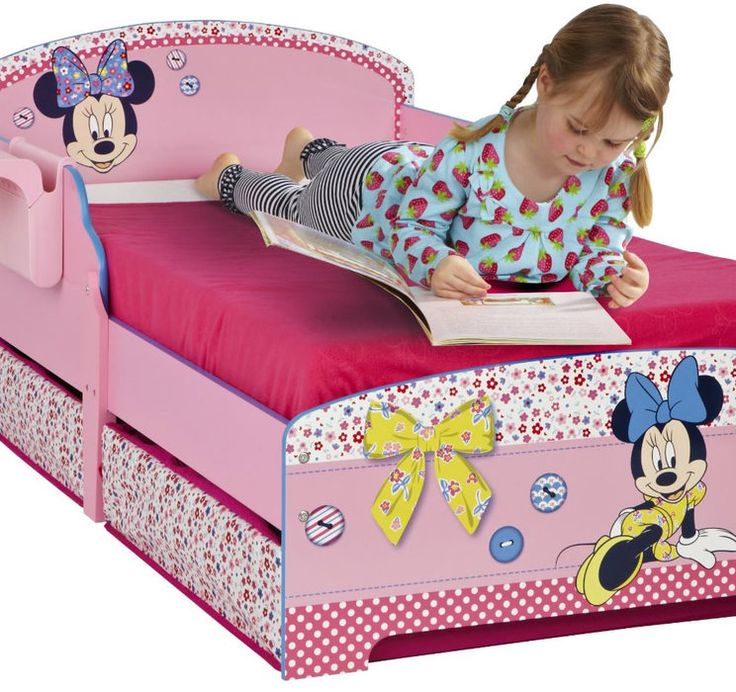 Minnie mouse bedroom decor minnie mouse toddler bed with storage