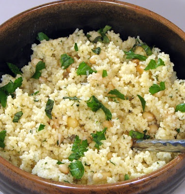 Roasted Garlic Couscous With Tomatoes, Dill, Onion, And ...