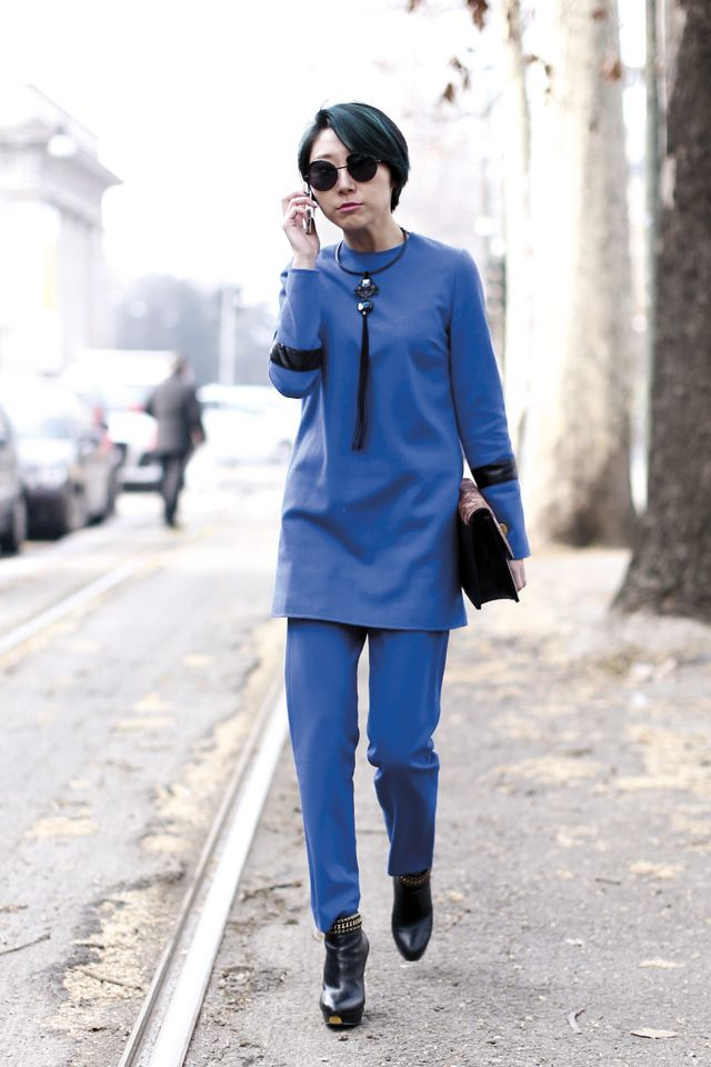 Pin By Elle Indonesia On Elle Street Style Pinterest