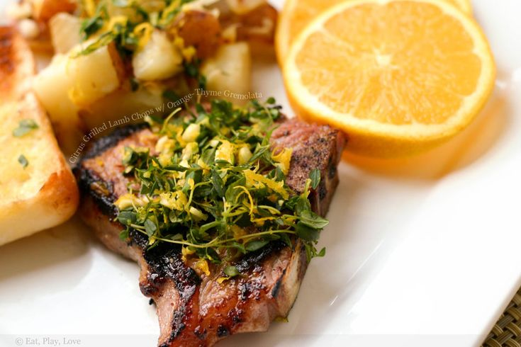 ... for grilled lamb chops with mint gremolata lamb rib chops with mint