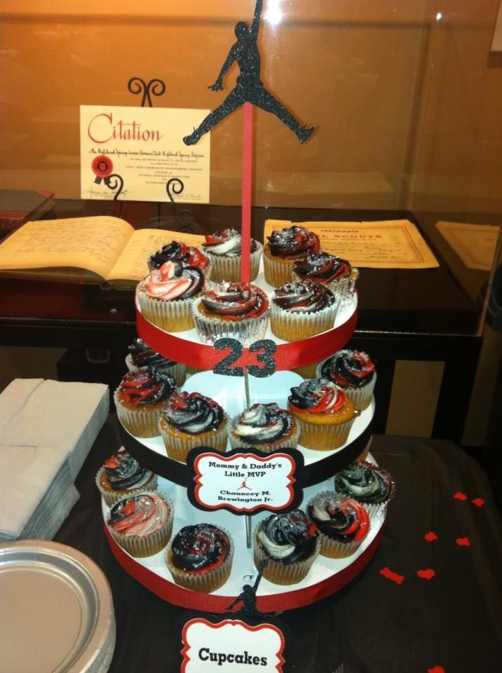 jordan cup cake stand ashley 39 s jordan inspired baby shower theme